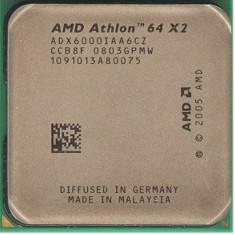 AMD Athlon 64 X2 6000+, procesor CPU ca NOU, Dual Core, 3 GHz, AM2, 2 x 3.0 GHz - Procesor PC AMD, Numar nuclee: 2, Peste 3.0 GHz
