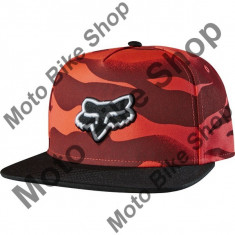 MBS Fox Girl Kappe Snapback Vicious, Acid Red, One Size, P:16/189, Cod Produs: 14880101AU
