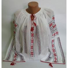 Ie traditionala romaneasca cu maneca lunga - Carnaval24