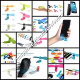 MINI VENTILATOR PORTABIL TELEFON MOBIL TABLETA SAMSUNG HTC SONY HUAWEI LG ALLVIE