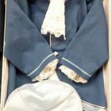 Costum botez print  3-6 luni