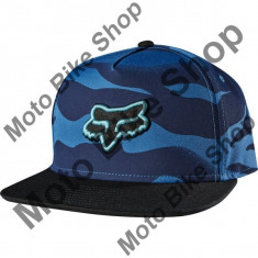 MBS Fox Girl Kappe Snapback Vicious, Blue Steel, One Size, P:16/189, Cod Produs: 14880305AU - Sapca Dama