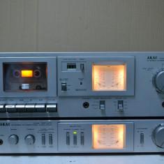 Amplificator si Deck AKAI AM-U01 si CS-M01 - Deck audio