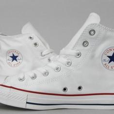 Bascheti Converse albi - Tenisi barbati, Marime: 36, 37, 38, 39, 40, 41, 42, 43, 44, Textil