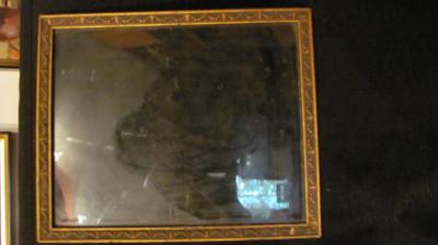GE - Rama veche din lemn pentru tablou ori fotografie mare (5) foto