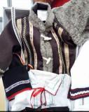 Costum botez popular baiat 3-6 luni, One size