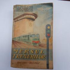 Mersul Trenurilor 1961-1962
