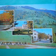 HOPCT 24639 VALEA JIULUI -JUD GORJ -CIRCULATA - Carte Postala Oltenia dupa 1918, Necirculata, Printata