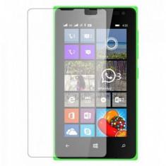 Folie Microsoft Lumia 435 Nokia Transparenta - Folie de protectie Nokia, Lucioasa
