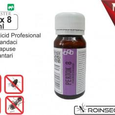 Insecticid universal - Pertox 8 - 50 ml - Solutie antidaunatori