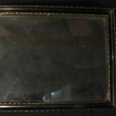 GE - Rama veche din lemn pentru tablou ori fotografie mare (1) - Rama Tablou, Decupaj: Dreptunghiular