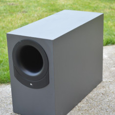 Subwoofer pasiv JBL Bass 10 - Amplificator audio JBL, 41-80W