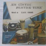 Claude Romano – Un Cîntec Pentru Tine _ vinyl,LP,Romania