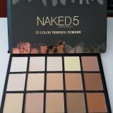 Trusa Make up Pudra Profesionala Naked 5 Urban Decay - Blush