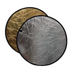 Blenda rotunda 2in1 gold-silver 60cm - Echipament Foto Studio
