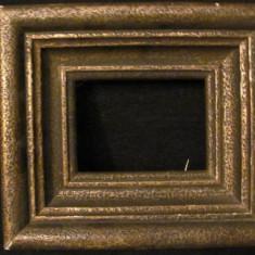GE - Rama veche din lemn pentru tablou ori fotografie mica (4)