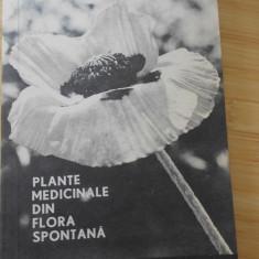 CONSTANTINESCU CORNELIU--PLANTE MEDICINALE DIN FLORA SPONTANA - 1967 - Carte Medicina alternativa