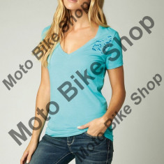MBS Fox Girl T-Shirt Riser V-Neck, Blue Atoll, Ds, P:16/193, Cod Produs: 14556468SAU