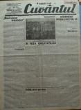 Cuvantul , ziar legionar , 27 Aprilie 1933 , articole Nae Ionescu , M. Sebastian