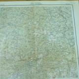 Ludus Mures Petrosani Hunedoara Transilvania harta militara color