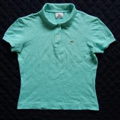 Tricou Lacoste; marime 44, vezi dimensiuni exacte; 6% elastan; impecabil, ca nou - Tricou dama, Marime: L, Culoare: Din imagine