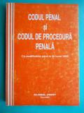 HOPCT CODUL PENAL SI CODUL DE PROCEDURA PENALA /BUCURESTI 1998 / 432  PAG