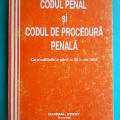 HOPCT CODUL PENAL SI CODUL DE PROCEDURA PENALA /BUCURESTI 1998 / 432 PAG - Carte Codul penal adnotat