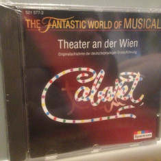 CABARET - FANTASTIC WORLD OF MUSICAL(1990/SPECTRUM/GERMANY)-ORIGINAL/NOU/SIGILAT - Muzica soundtrack universal records, CD