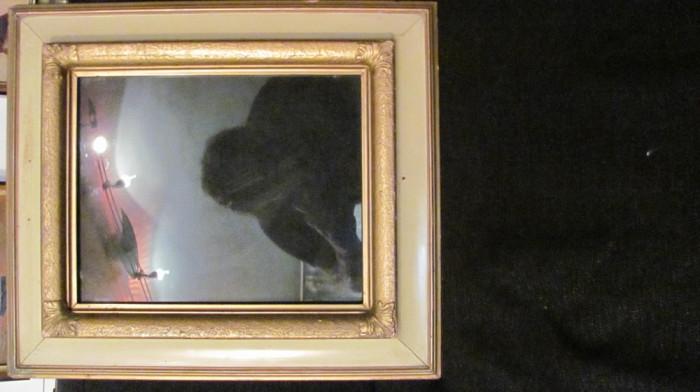 GE - Rama veche din lemn pentru tablou ori fotografie mare (7)