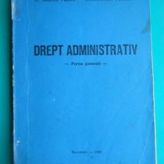 HOPCT  DREPT ADMINISTRATIV /MIRCEA PREDA /CONSTANTIN VOINESCU 1992  -251  PAG