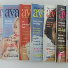 LOT 10 REVISTE AVANTAJE+TIPARE/1997-1998 - Revista moda