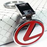 Breloc auto nou metal pentru Lexus metalic si cutie simpla cadou