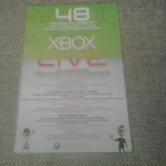 Card XBOX LIVE 48 ore