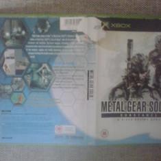 Metal Gear Solid 2 - Substance - Joc XBox classic