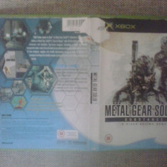 Metal Gear Solid 2 - Substance - Joc XBox classic - Jocuri Xbox, Actiune, 16+, Single player