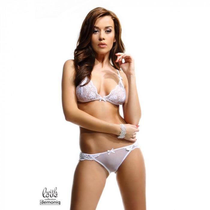 Set lenjerie intima Oliv S alb - Sex Shop Erotic24 foto mare