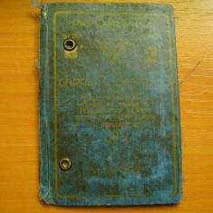 Carnet de identitate C.F.R. vechi, regalist, din anii '40 cu numele titularului - Pasaport/Document, Romania 1900 - 1950