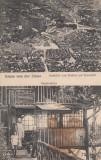 BRASOV  SALUTARI DE LA TAMPA  RESTAURANTUL DIN GROTA BETHLEN  CIRC. 1917 CENZURA, Circulata, Printata