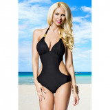 Costum de baie Luxurious Monokini L negru - Sex Shop Erotic24