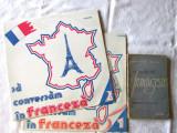 """SA VORBIM FRANTUZESTE - Exercitii lexicale"",  Manual + 2 discuri vinyl LP, 1964"