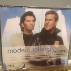 MODERN TALKING - THE HITS - 2CD BOX (2007/SONY/GERMANY) - ORIGINAL/NOU/SIGILAT - Muzica Dance sony music
