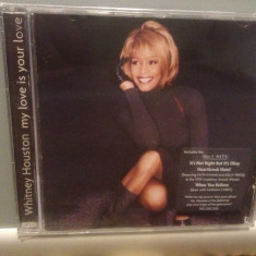 WHITNEY HOUSTON - MY LOVE IS YOUR LOVE (1998/ARISTA REC) - ORIGINAL/NOU/SIGILAT - Muzica R&B arista, CD