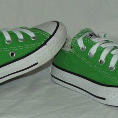 Tenisi copii CONVERSE ALL STAR - nr 27, Culoare: Din imagine, Unisex, Verde