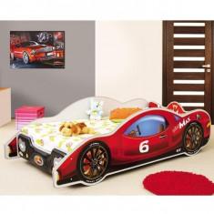 Pat copii masina MiniMax rosu - Pat tematic pentru copii Altele, Altele, Alte dimensiuni