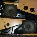 Set difuzoare BMW E39 Medii/Bass + Medii/Inalte + Medii