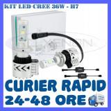KIT LED CREE 36W GENERATIA 8 - H7, H8, H11, HB3, HB4 (3000LM) APRINDERE INSTANTA