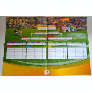 Album cartonase, echipa nationala de fotbal a Germaniei - 2012 - Complet