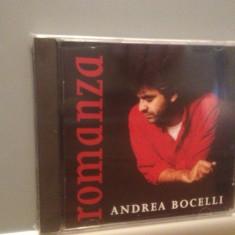 ANDREA BOCELLI - ROMANZA (1996/POLYDOR REC/GERMANY) - ORIGINAL/NOU/SIGILAT - Muzica Clasica universal records, CD