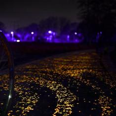 Pietricele fosforescente decorative glow orange