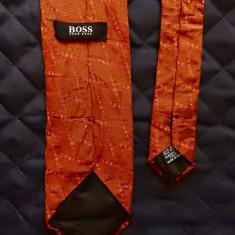 Cravata Hugo Boss Made in Italy; 100% matase; 149 cm lungime totala, Culoare: Din imagine